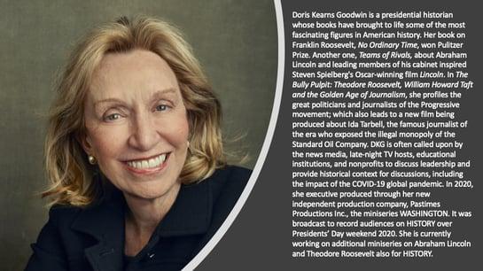2020 Inspiration - Doris Kearns Goodwin