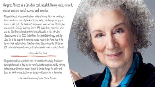 2020 Inspiration - Margaret Atwood