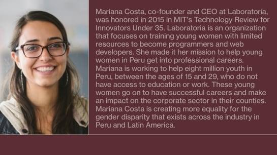2020 Inspiration - Mariana Costa