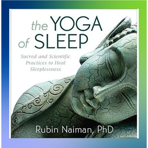 WEST book reco: The Yoga of Sleep (Audio book cover and affiliate link)